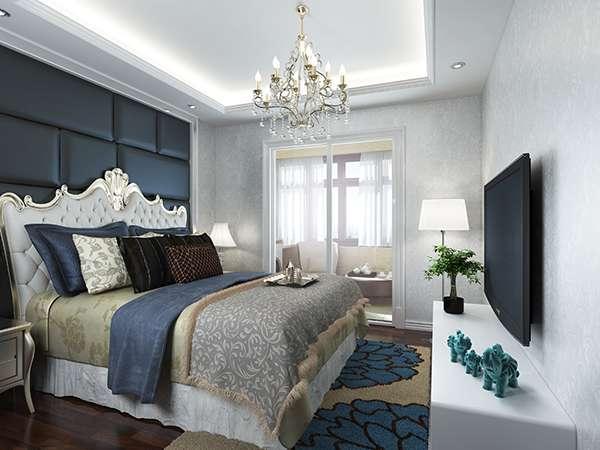 卧室带暗光展示图片